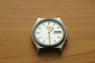 Seiko 5 Automatic 7009a Vintage Uhr Day/date Bild