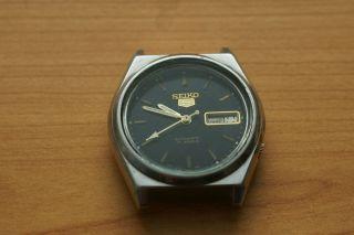 Seiko 5 Automatic 7009 - 8763 Vintage Uhr Day/date Bild