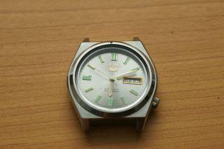 Seiko 5 Automatic 7009 - 577a Vintage Uhr Day/date Bild