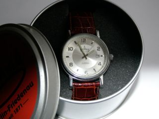Askania Alexanderplatz Armbanduhr Watch In Einem Wunderschönen. Bild