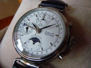 Sehr Schöne Auguste Reymond Jazz Age Chronograph Bild