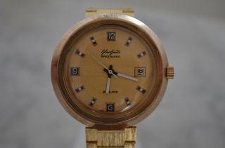 Glashütte Gub Spezimatic 26 Rubis Automatic Armbanduhr Bild
