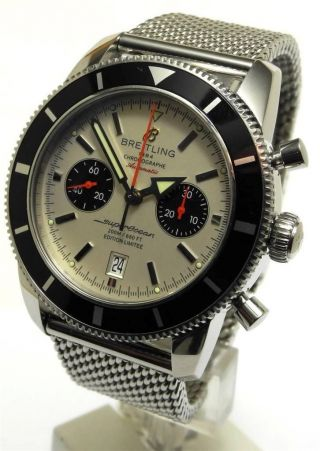 Breitling Superocean Heritage 125th Anniversary 46 Limited 1000 Ref A23220 Bild