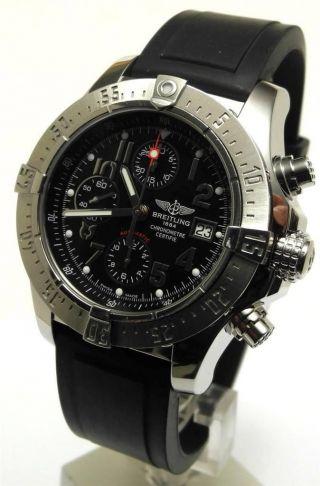 Breitling Avenger Skyland Automatic Chronograph 45 Mm Edelstahl Ref A13380 Bild