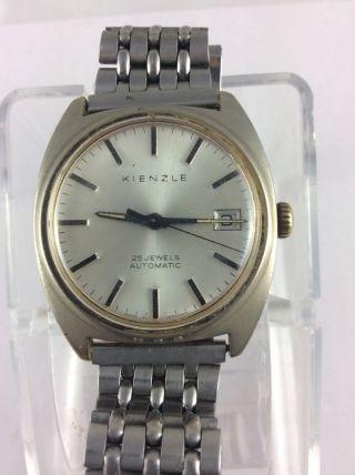 Kienzle Automatic 25 Jewels Rare Mit Datumsanzeige Und Unidor Armband Bild