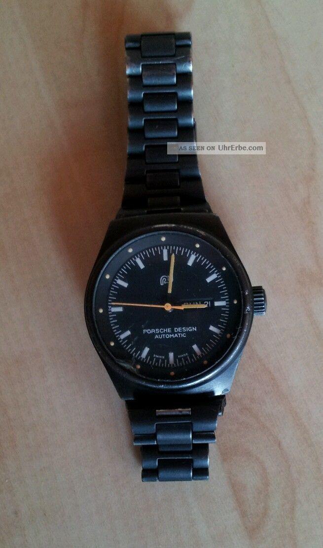 Porsche Design Armbanduhr Medium / Damen 70er /80er Jahre Armbanduhren Bild