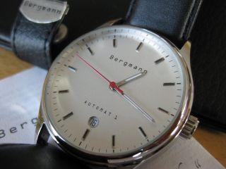 Bergmann Automat 1 Ovp Uhr Automatik Sammler Automatic Herren Bild