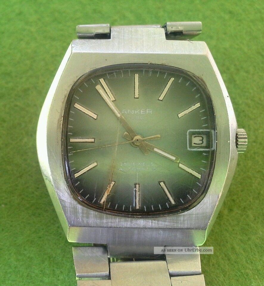 Anker C 80 // Automatik // Uhrwerk Perfekt // Willkommen Armbanduhren Bild