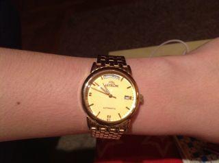 Astron,  Armbanduhr Automatik,  Vergoldet,  Herren Bild