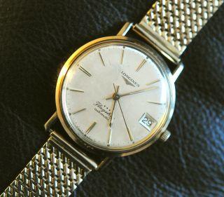 Longines Flagship Gold Mit Goldenem Armband 14k – Generalüberholt Bild