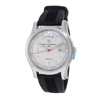 Armbanduhr Herren Cuervo Y Sobrinos Robusto 2811 Tag Datum Automatik Bild