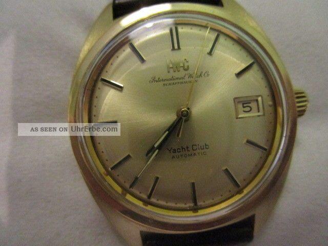 Iwc 18 Karat (750er) Golduhr Armbanduhren Bild