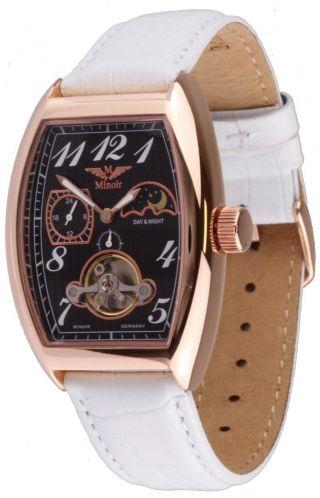 Minoir Uhren Montgolfiere Automatikuhr Damenuhr - - Ovp Bild