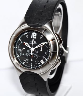 Ebel Type – E Stahl Kautschuk Uhr Ref.  9137c51 Papiere Box 2013 Bild
