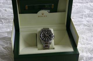 Rolex Gmt Master Ii Stahl 116710ln Lc 100 Bild