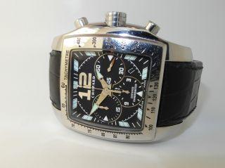 Tycoon Chopard Chronograph Xl Stahl Herrenuhr Ref.  :16/8961 Bild