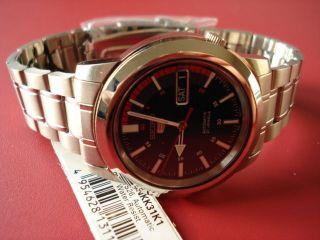 Seiko 5 Automatic Armbanduhr Für Herren (snxj89) Bild