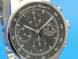 Iwc Gst Chronograph Iw3707 Automatik Ankauf Ihrer Uhr Möglich Tel.  79014692 Bild