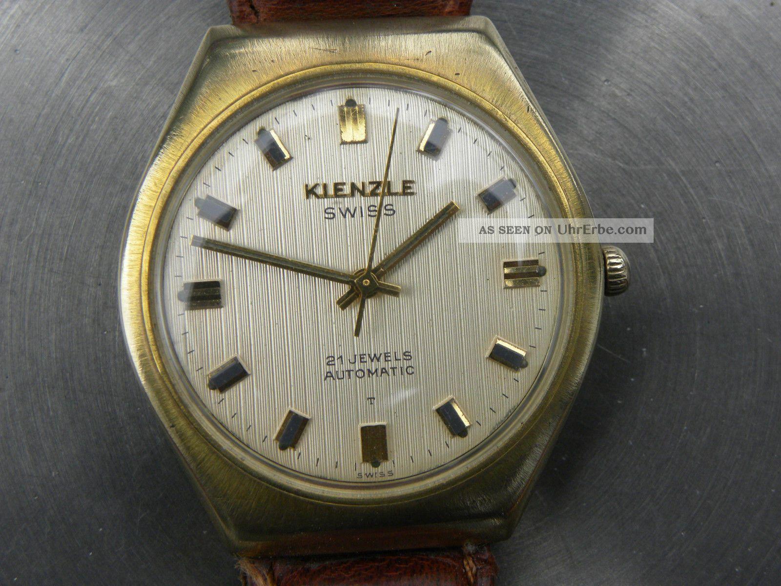 Rar: Kienzle Swiss Automatic Armbanduhren Bild