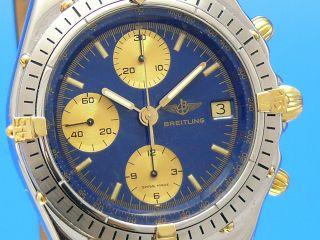 Breitling Chronomat Chronograph Stahl/gold - - Ankauf Von Luxusuhren - - Bild