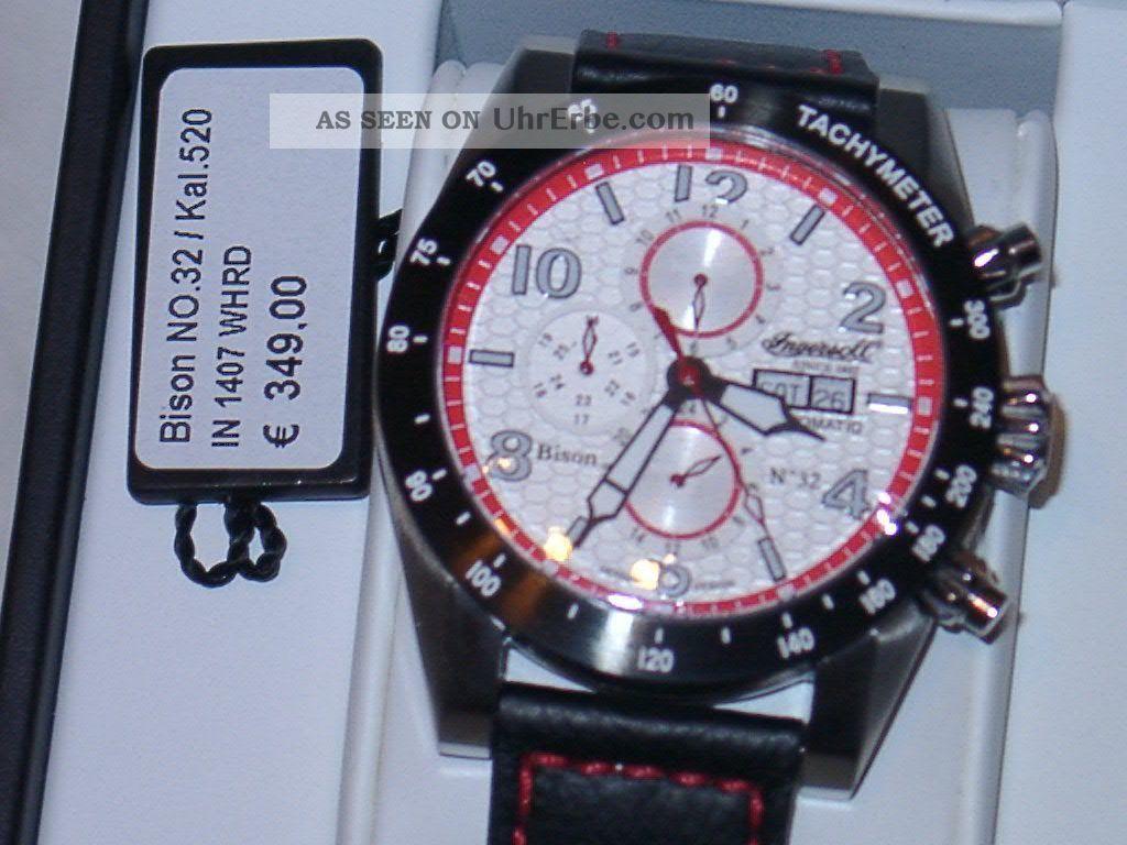 Ingersoll Bison Nr.  32,  In1407whrd Modell 2014 Armbanduhren Bild