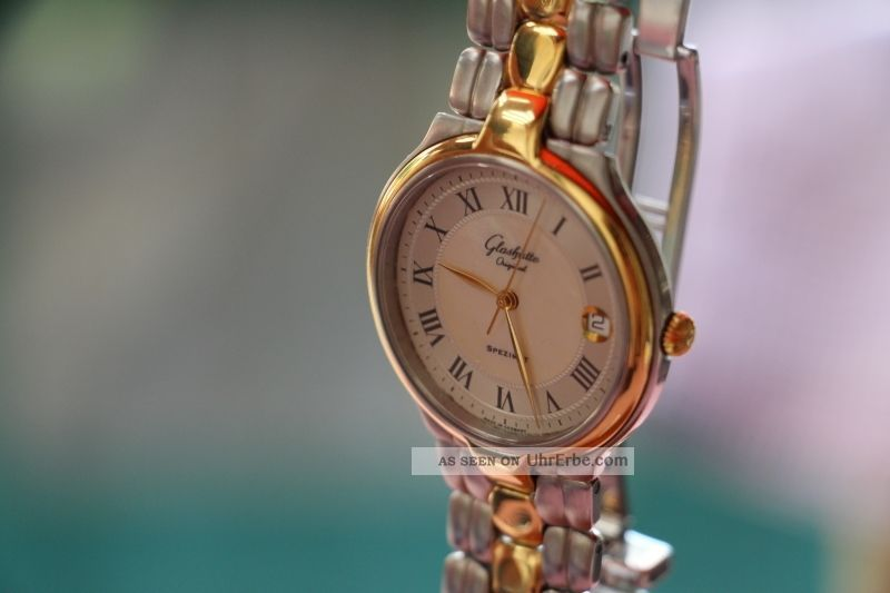Glashütte Spezimat Herren Bzw.  Damenuhr / Uhr Rar Armbanduhren Bild
