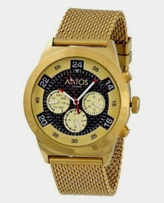 Aatos Vergoldet Herren Automatik Armband Uhr Bild