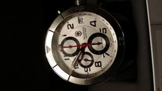 Victorinox Swiss Army Uhr - Chronograph Automatik Eta Valgranges Ovp Papiere Bild