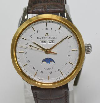 Maurice Lacroix Phase De Lune Herren Uhr Uhren Luxuxuhr Armbanduhr Nr.  1468 Bild