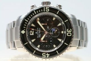 Blancpain Fifty Fathoms Flyback Chronograph Automatik Stahlband Bild