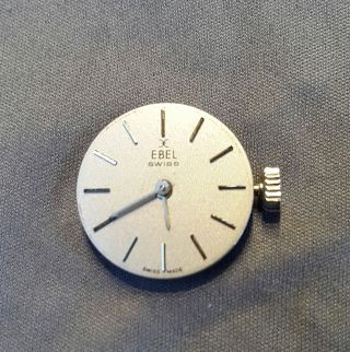 Uhrwerkl Ebel Mechanisch Handaufzug Swiss Made Bild