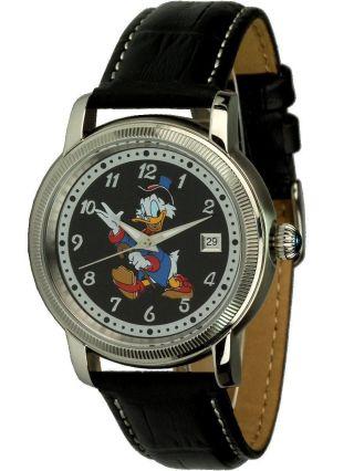 Disney Uhren - Dagobert Duck - Automatikuhr,  Sammleruhr,  Ovp Bild
