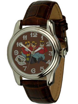 Disney Uhr - Automatikuhr Motiv Panzerknacker,  Sammleruhr,  Ovp, Bild