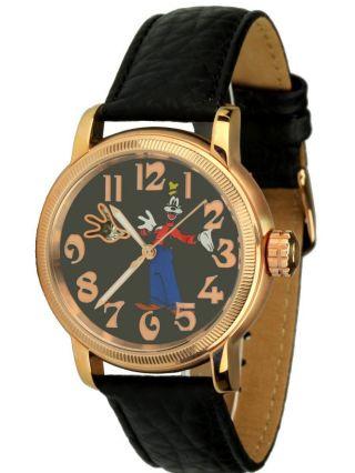Disney Uhren - Goofy - Automatikuhr Edelstahl Rosegold,  Unisexuhr,  Ovp, Bild