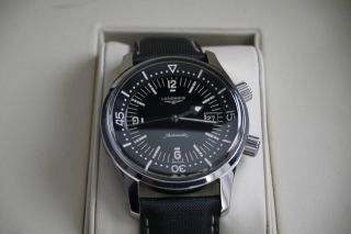 Longines Legend Diver Watch Mit Datum,  Automatik,  Box,  Pap. Bild