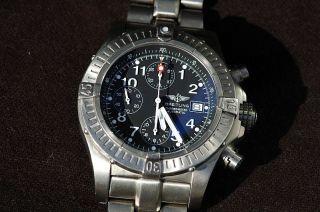 Breitling Avenger Chronograph Titan Automatik Herrenuhr E13360 Bild