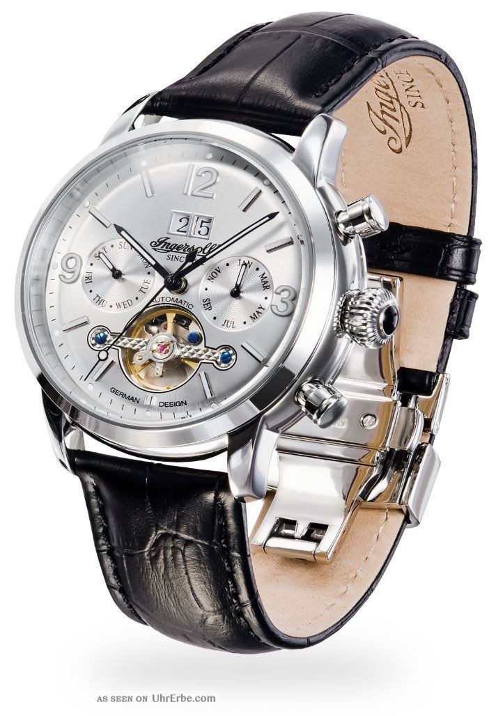 Ingersoll - Belle Star - In1826sl Herrenarmbanduhr Und Armbanduhren Bild