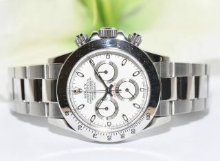 Rolex Daytona Stahl Uhr Ref.  116520 Papiere Box 2003 Bild
