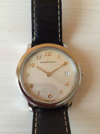 Eterna Matic Herren Armbanduhr Bild