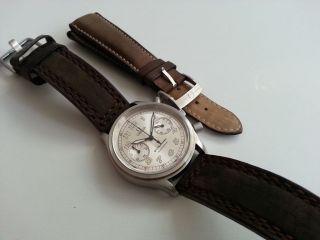 Omega Dynamic Chronograph 100 Jahre Avd - Sehr Selten Bild