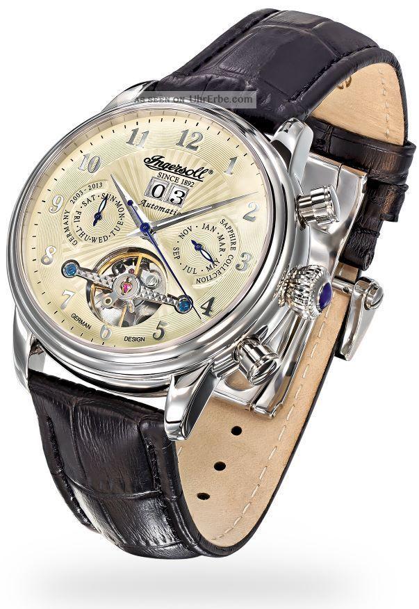 Ingersoll - Coffin - In1510cr Herrenarmbanduhr Armbanduhren Bild