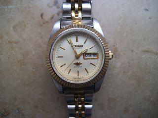 Automatik Damen Armbanduhr Citizen Bild