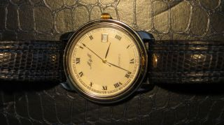 M&m Automatic Herrenuhr - - Vergoldetes Uhrwerk Bild