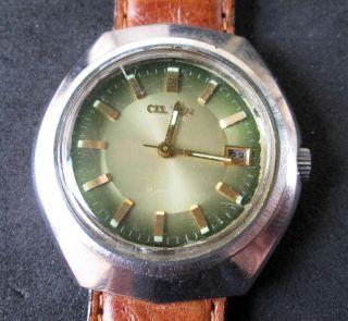 Citizen Herrenarmbanduhr Automatik Mit Datumsanzeige,  Mechanisch,  Uhr Läuft, Bild