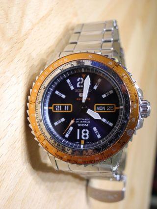 Seiko 5 Sport Herren Automatik Uhr Srp351j1 Bild