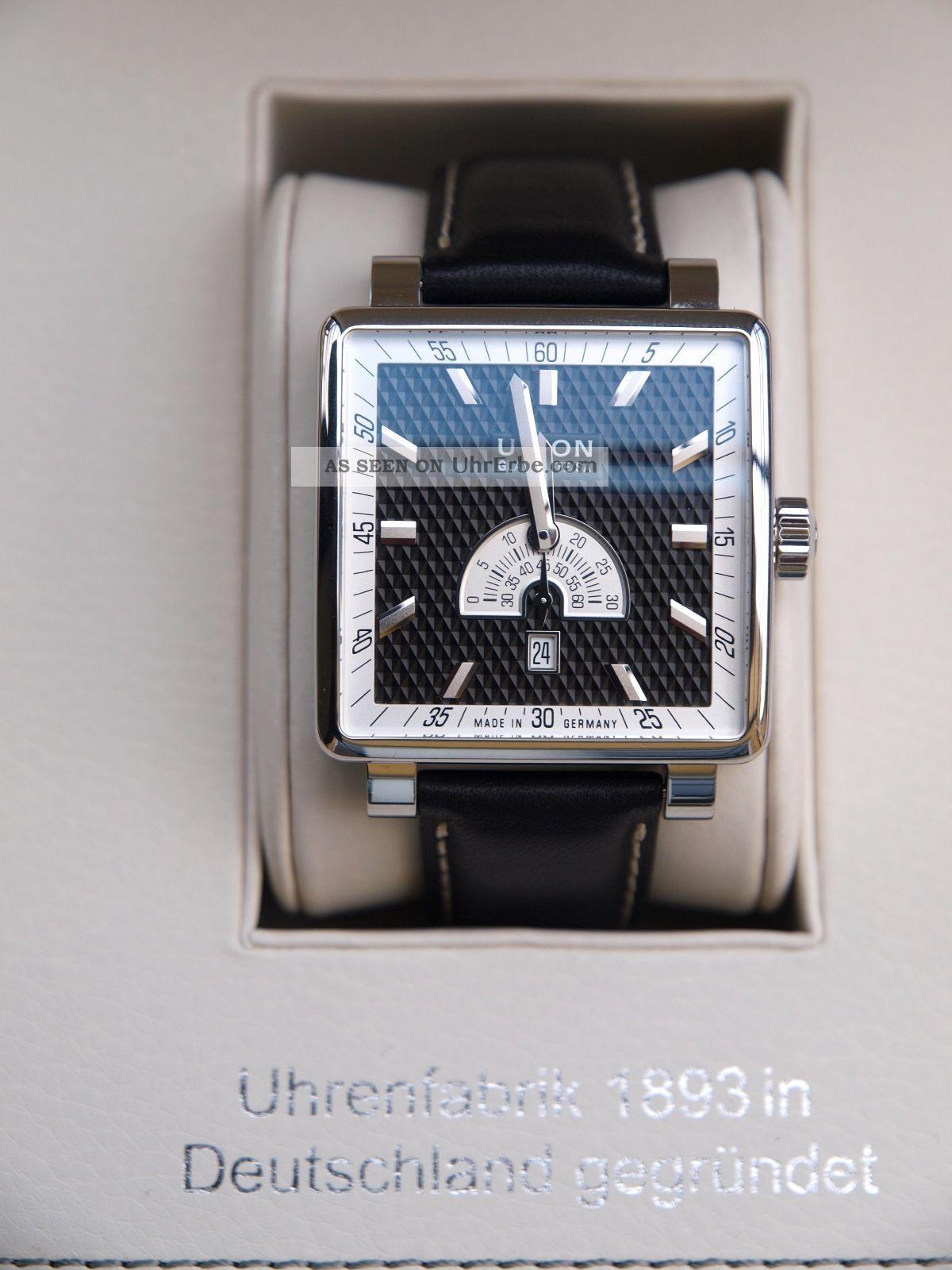 Union Glashütte Averin Kleine Sekunde,  Luxus - Herren - Uhr Armbanduhren Bild