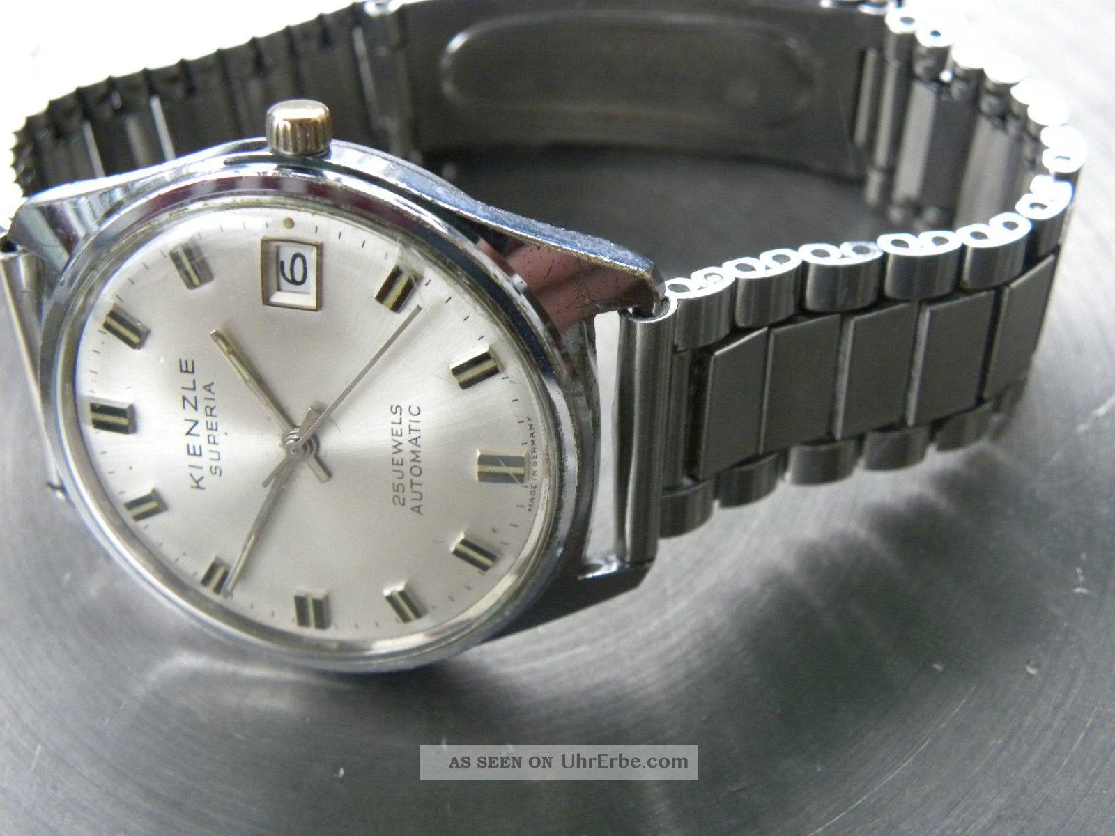Kienzle Superia Automatic,  Selten,  Guter Zustd. Armbanduhren Bild