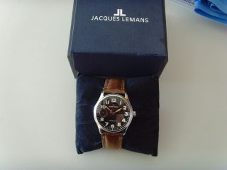 Jacques Lemans Jl Mechanical Swiss Made Bild
