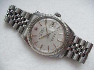 Rolex Datejust 1601 Bild