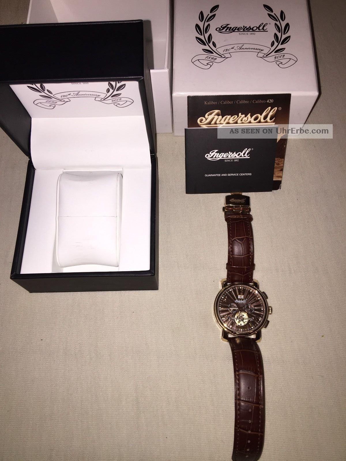 Ingersoll In1806rbr Santee Herrenarmbanduhr Automatik Armbanduhren Bild